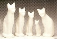 Handcrafted Ceramic Cat Urns